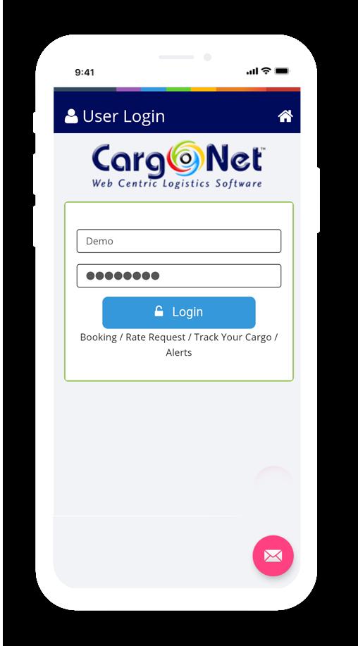 Cargo Tracking app
