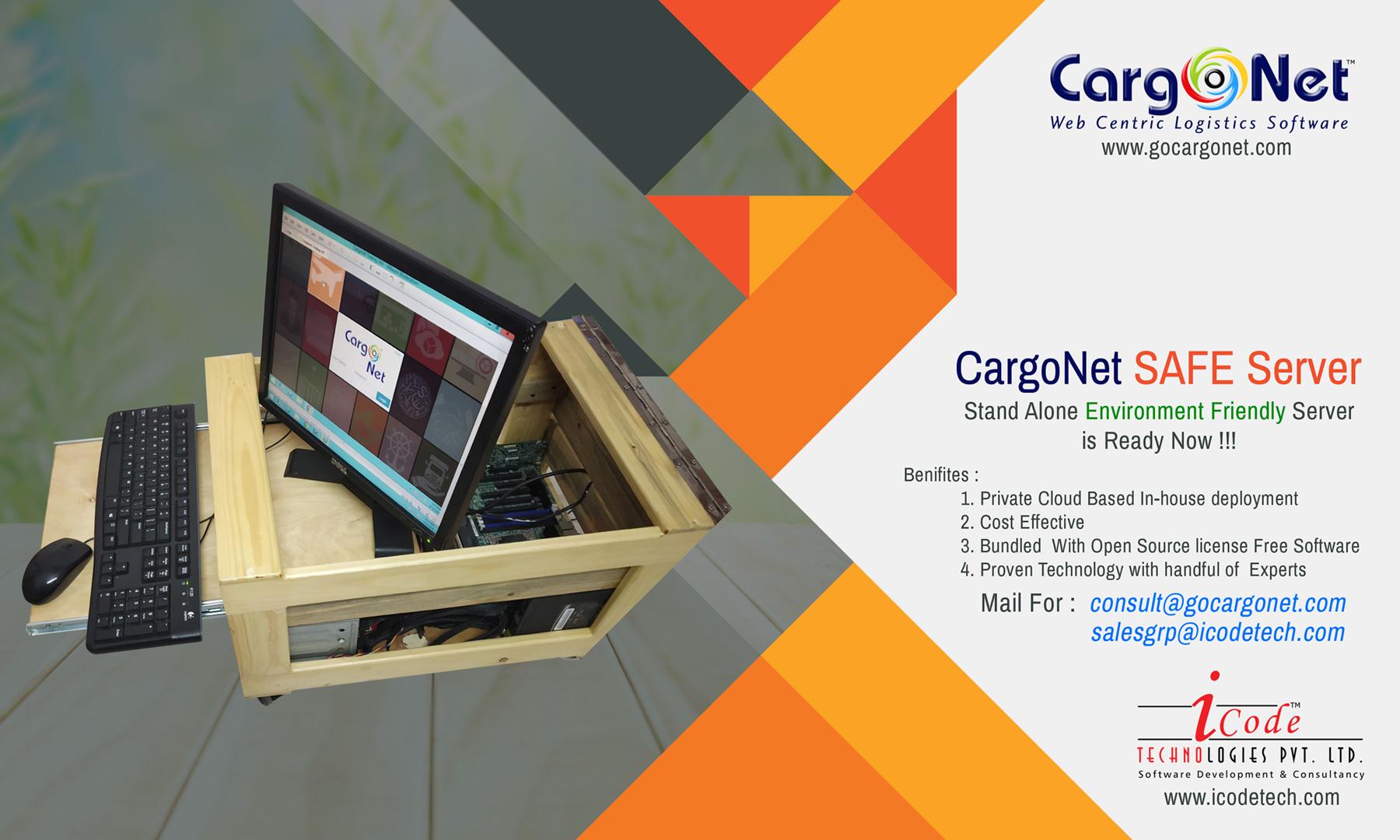 CargoNet Safe Server Freight Forwarding Sofware