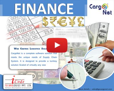 Cargonet Freight Forwarding Finance Software Finance