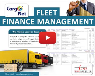 Cargo Fleet Finance Management Software