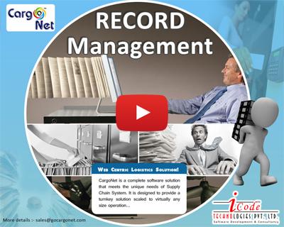 CargoNet Record Management Software