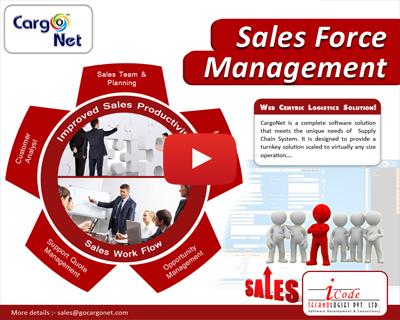 CargoNet Sales Force Management Software